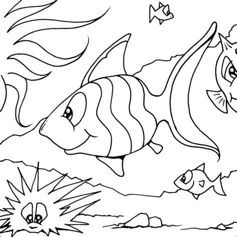 Coloring Ikan by Striped Fish Coloring Kelompok Bermain Alia