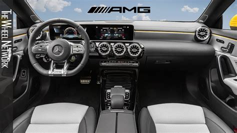 Request a dealer quote or view used cars at msn autos. 2020 Mercedes-AMG CLA 35 4MATIC Shooting Brake Interior - YouTube