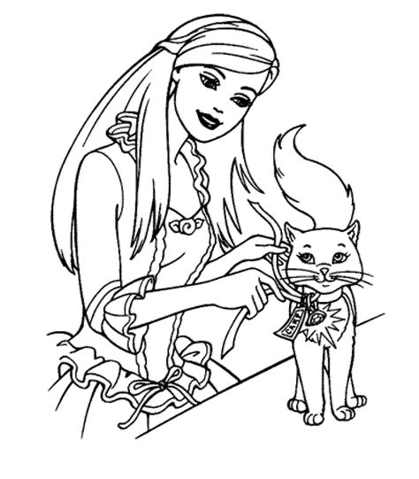 barbie coloring pages  bestappsforkidscom