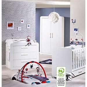 chambre bebe trio astride blanc avec armoire 2 portes 30 With chambre bébé design avec livraison de fleur a domicile pas cher