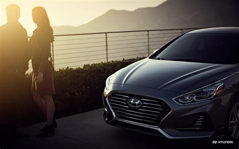 hyundai sonata sunset hd view wallpaper latest cars