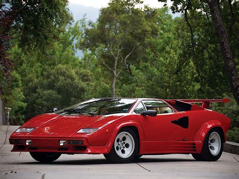Lamborghini Countach 5000 Quattro Valvole Specs & Photos