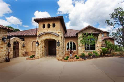 mediterranean home builders get appeal with these attractive tuscan style