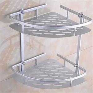 Wall, Corner, Shelf, Shower, Shelf, Shampoo, Holder, Bathroom, Corner, Rack, Storage, Holder, Hanger, 2, Layer