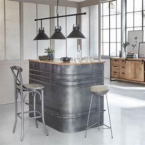 Meuble Bar Angle : made in meubles meuble industriel bois massif meuble scandinave ~ Melissatoandfro.com Idées de Décoration