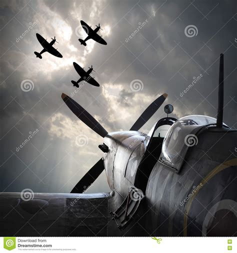 Fighter Planes Stock Images