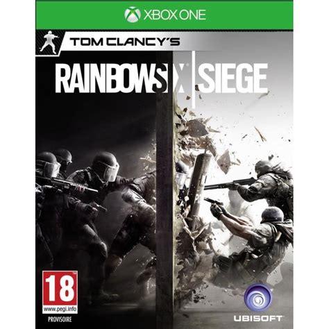 des jeux siege rainbow six siege jeu xbox one avis test soldes