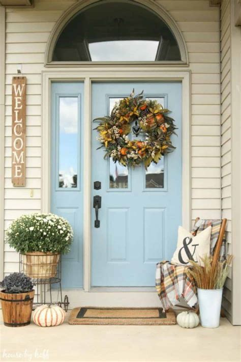 Ideas For Fall Front Porch by 17 Impressive Front Porch Decorating Ideas Futurist