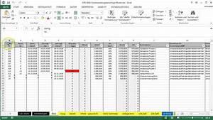 Excel Rechnung Mit Fortlaufender Rechnungsnummer : tabellen in excel vorlage e r ausdrucken youtube ~ Themetempest.com Abrechnung