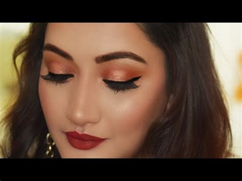 hindi indian party makeup tutorial valentines day