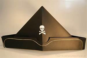 Hut Aus Papier : piratenhut mit totenkopf kindergeburtstag ~ Watch28wear.com Haus und Dekorationen
