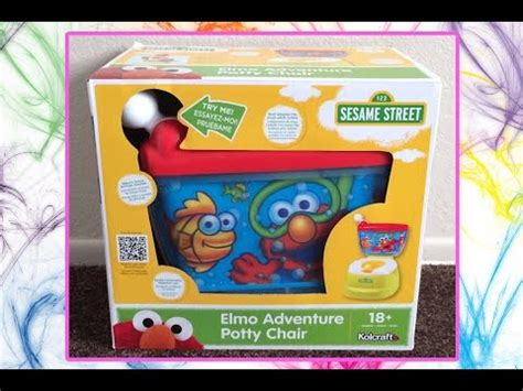 Sesame Elmo Adventure Potty Chair by Sesame Elmo Adventure Potty Chair Crawfishingsmirker