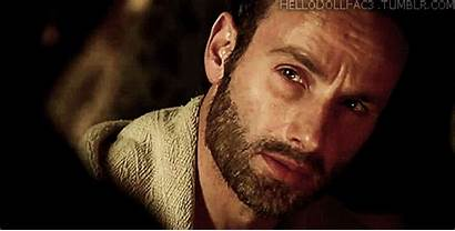 Rick Walking Dead Lincoln Andrew Grimes Confused