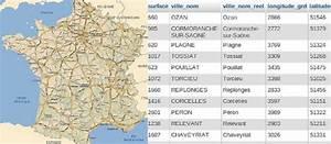 Liste Des Villes Du Nord : liste des villes de france en sql csv ou xml ~ Medecine-chirurgie-esthetiques.com Avis de Voitures