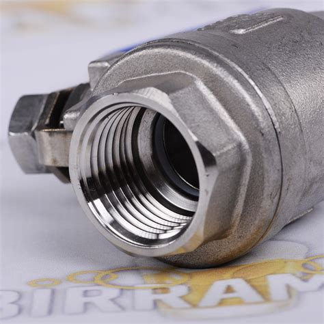 rubinetto inox rubinetto a sfera acciaio inox 1 2 pollice per