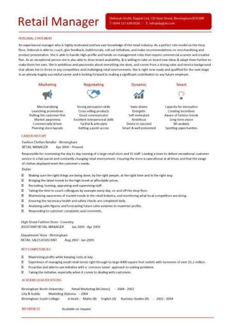 Best Cv Sles by Retail Cv Template Sales Environment Sales Assistant Cv