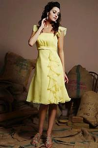 cheerful collections of yellow wedding guest dresses With yellow dress for wedding