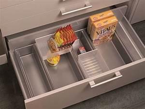 Schubladeneinsatz basisschale 90er auszuge variabel 270000113 for Schubladeneinsatz küche