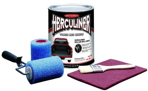 herculiner diy truck bed liner roll on kit hcl0b8 ebay