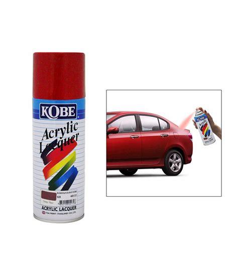 Kobe Car Touchup Spray Paint 400ml Red