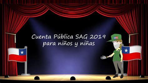 ¿a qué hora se realizará la última cuenta pública del presidente sebastián piñera? Cuenta Pública SAG 2019 para niños y niñas - YouTube