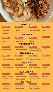 Diet Diet Meal Plans Weekly Plans Weekly Healthy Easy One Week Paleo Meal Plan And Paleo Shopping List