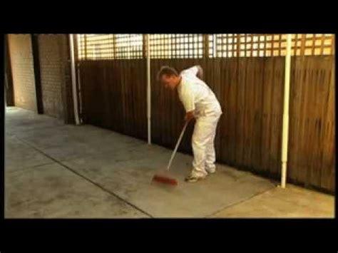 paint concrete  berger jet dry paint youtube