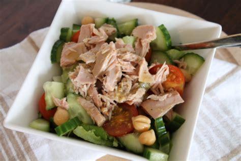 simpele maaltijdsalade als lunch kiwi zo gezonde en