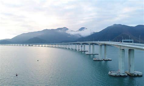 hong kong macau bridge hong kong zhuhai macau bridge opens in china get a look