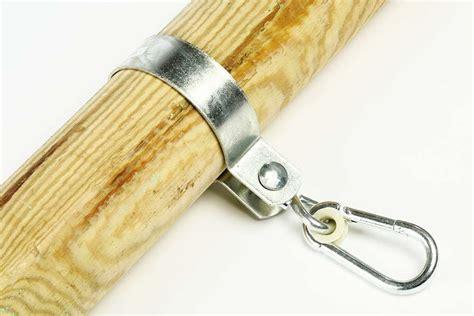 balken für schaukel schaukelschelle mit karabiner f 252 r rundholz balken 216 10 cm schaukelhaken