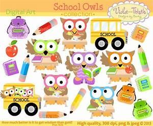 School Owls Clip Art Owl Clip art Clipart Student Owls ...
