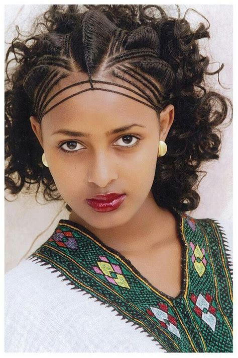34 best habesha hair images on Pinterest Hair dos