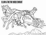 Coloring Fire Elijah Chariot Bible Pages Printable Story Chariots Sheets Elisha Heaven Sunday Crafts Christian Fiery Goes Resources Today Stories sketch template