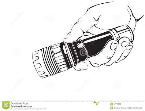 une avec la le torche illustration de vecteur image 57218962