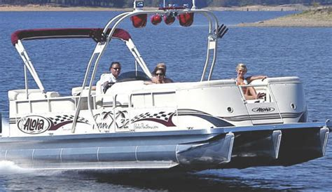 Fishing Boat Engine Sound by Research Aloha Pontoon Boats Ps Twin X 32 Pontoon Boat On