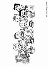 Coloring Peanuts Pages Printable Getcolorings sketch template