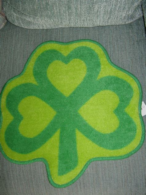 Colorful Throw Rugs by New Whimsical Green Clover Colorful Bath Mat Kitchen