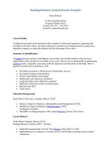 banking business analyst resume bank resume sales banking lewesmr