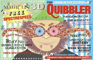 planet print harry potter week letters to the quibbler