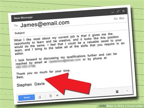 feel your cover letter 5 ways to write a cover letter wikihow