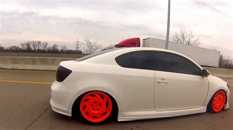 Custom Championship White Bagged & Fitted Scion Tc