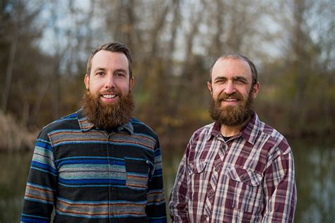 bearded brothers caleb simpson herbert chris bars energy these austinites ever austin bennett rebecca left right organic