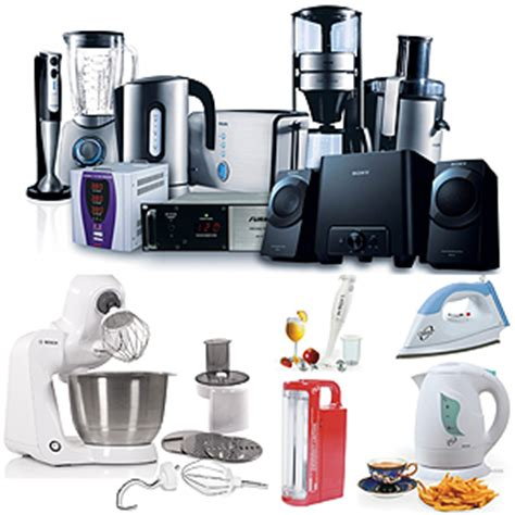 Types Of Electrical Appliances We Utilize Daily