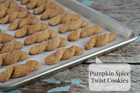 pumpkin spice twist cookies recipe lil  cakes