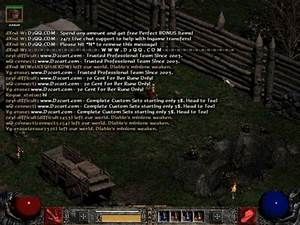 Diablo 2 - How Can I Turn Off The Bot Spam Messages