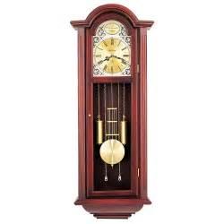 chiming pendulum wall clock bulova tatianna c3381