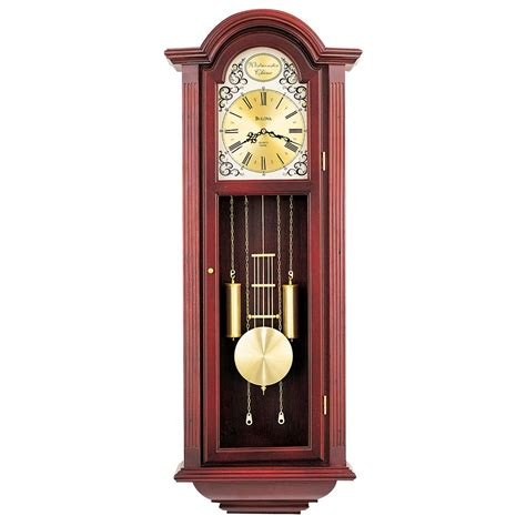 Bulova Table Clock Westminster Ave by Chiming Pendulum Wall Clock Bulova Tatianna C3381
