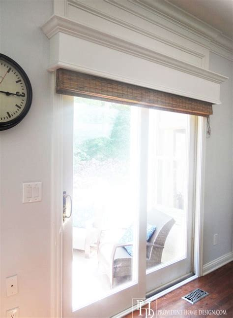 Sliding Door With Blinds In The Glass by Best 25 Sliding Door Window Treatments Ideas On