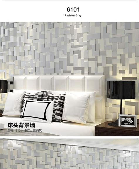 modern high  flocking  wallpapers mural wallcoverings