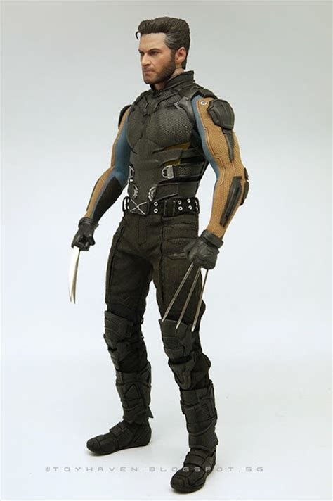 wolverine toys body figure days claws 6th past future inch